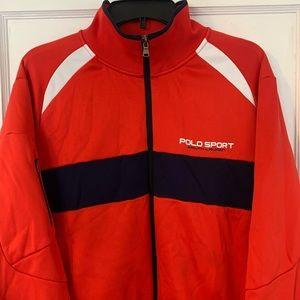 Vintage Polo Sport Full Zip Performance Jacket XL